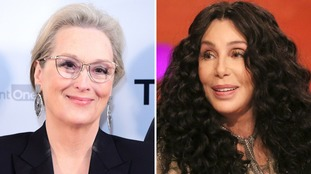 Meryl Streep (left) and Cher