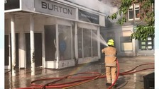 Dumfries High Street reopens after shop fire