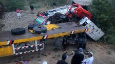 Wedding day tragedy as lorry kills guests in parked bus