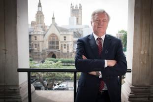 David Davis in Westminster, following his resignation as Brexit secretary (Stefan Rousseau/PA)