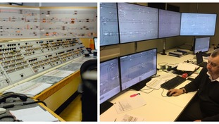 A before and after view of the Metro control room, the upgrade will be the biggest in it's 38-year history.