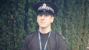 Policeman dies in A7 crash