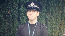 Policeman dies in A7 crash