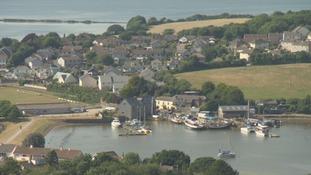 Properties in Exmoor near the harbour