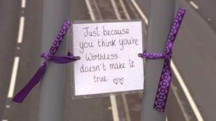 chesterfield bridge message suicide