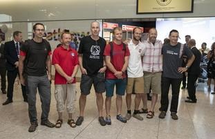 Several British elite divers flew to Thailand to help with the rescue (Steve Parsons/PA)