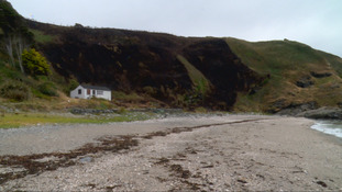 IoM fire crews tackle headland fire caused by disposable barbecue