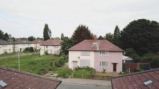Homes here have been deemed uninhabitable