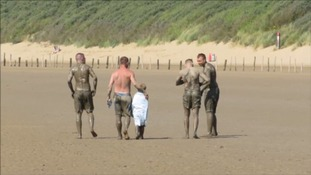 Family rescued after getting trapped in sticky mud flats in North Somerset