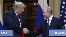 Putin says Russia 'has never interfered' in US elections