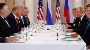 The US and Russian administrations met in Helsinki.