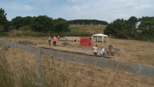 Archaeologists dig for Iron Age treasures in Alderney