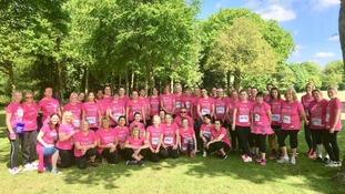 Norwich women raise more than £10,000 for Cancer Research UK