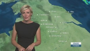 The morning forecast with Helen Plint