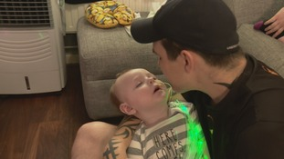 Parents say cannabis oil could save their one-year-old son from seizures