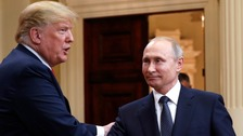 Trump 'sees no reason why' Russia would meddle in US election