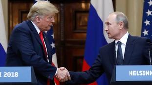 Trump's 'disgraceful' backing of Putin stuns US officials