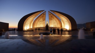 The four main petals of the monument represent the four main provinces of Pakistan.
