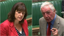 'You must be hell to live with' minister tells Dennis Skinner