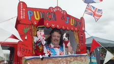 Brian Llewellyn denies Punch and Judy shows glorify domestic violence.