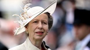 Princess Anne visits Guernsey