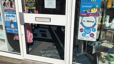 Keech Hospice Care's shops have been hit three times in the last week