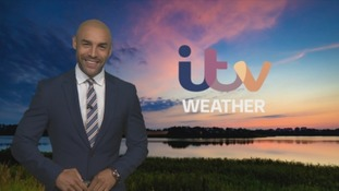 Sunshine and scattered showers tomorrow.