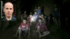 Rick Stanton and a fellow cave diver found the Thai football team deep in a cave