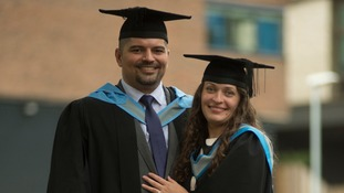 University of Exeter couple marry and graduate from medical school on the same day