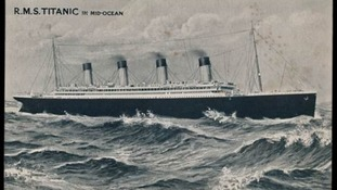 Postcard sent from Titanic ship could sell for £20,000
