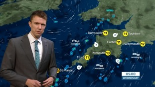 UK Weather Forecast: Possible showers in the South West