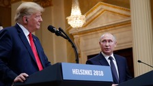 Trump u-turns on comments over Russian election meddling