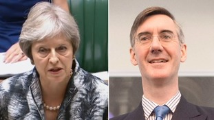 Is Jacob Rees-Mogg getting the better of Theresa May's Brexit plan?