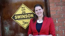 Jo Swinson is currently on maternity leave.