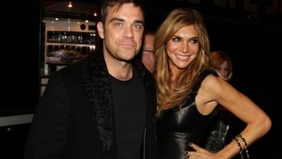 Robbie and his wife Ayda