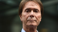 Sir Cliff 'choked up' after £210,000 damages win over BBC