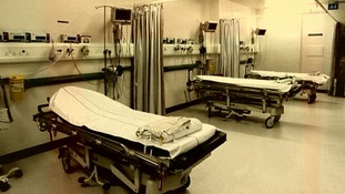 A hospital ward in Stafford Hospital