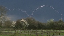 The Met Office has issued a yellow weather warning for the risk of thunderstorms in the Anglia region on Friday.