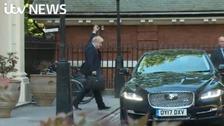 Boris Johnson delivering his resignation speech to MPs