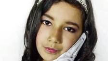 Jessica Urbano Ramirez, 12, died in the Grenfell Tower fire.
