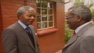 When Trevor met Nelson - watch the iconic interview as the world remembers Nelson Mandela