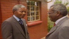 When Sir Trevor McDonald met Nelson Mandela