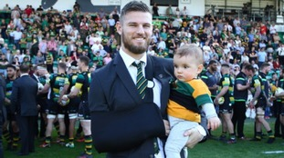 Saints to take on Tigers at Twickenham to raise money for retired Rob Horne