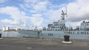 The Pakistani Navy welcomed