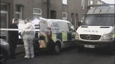 Forensics officers have been examining the scene.