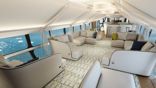 What the inside of the Airlander 10 could look like.