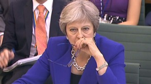 Mrs May was grilled by the Commons Liaison Committee on Brexit.