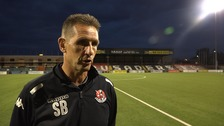 Crusaders boss Stephen Baxter talks to UTV following his side's Champions League exit.