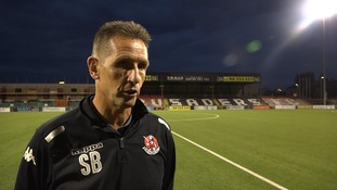 Crusaders boss Stephen Baxter talks to UTV following his side's Champions Legue exit.