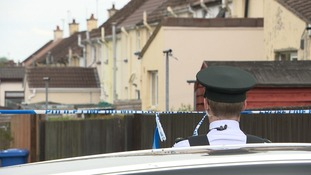 Police and the Army attended the scene of the overnight security alert in Derry